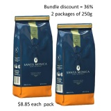 Cafe Gourmet Santa Monica Bundle 2 Packages Of Ground Coffee Powder 250G Price Comparison