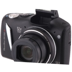 Canon Powershot Sx130 Is Digital Camera 12mp, 12x Zoom Refurbished As Good As New ! Canon White Box Pack. By Bestdeals.
