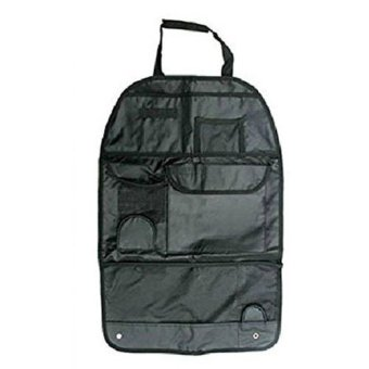 Car Auto Care Seat Cover Storage Bag Pouch For Children Kick Mat Mud Black