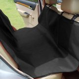 Car Back Seat Cover Pet Cat Dog Mat Blanket Protector Waterproof 135 135Cm Black Cheap