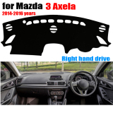 Buying Car Dashboard Cover Mat For Mazda 3 3Th Axela 2014 2016 Right Hand Drive Dashmat Pad Dash Mat Covers Auto Dashboard Accessories