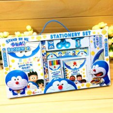 Review Cartoon Gift For Kids Stationary Set Doraemon Not Specified