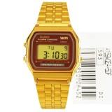 Discount Casio Vintage Gold Digital Alarm Watch A159Wgea 5D A159Wgea Multicolor Casio Singapore