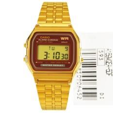 Sale Casio Vintage Gold Digital Alarm Watch A159Wgea 5D A159Wgea Multicolor Casio