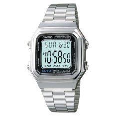 Purchase Casio A178Wa 1A Digital Silver Stainless Steel Watch A178Wa