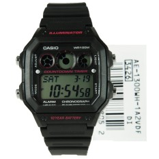 Ae 1300Wh 1A2Vdf Casio Collection Illuminator 100M Watch Singapore