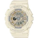Best Casio Baby Ba 110 Series Trendy Ecru Matte Resin Band Watch Ba 110Ga 7A2
