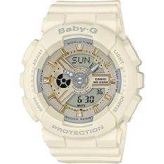 Wholesale Casio Baby Ba 110 Series Trendy Ecru Matte Resin Band Watch Ba 110Ga 7A2