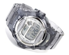 Buy Casio Baby G Bg 169R 8D Digital Semi Transparent Grey Resin Ladies Sport Watch Online