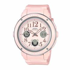 Casio Baby G Bga 150Ef 4B Pastel Pink Analog Digital Watch Discount Code