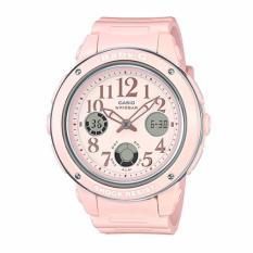Casio Baby G Bga 150Ef 4B Pastel Pink Analog Digital Watch In Stock