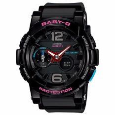 Sale Casio Baby G Bga 180 1B G Lide Digital Analog Thermometer Tide Graph Watch On Singapore