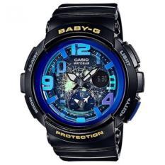 Who Sells Casio Baby G Bga 190Gl 1B Beach Traveler Series Analog Digital Ladies Watch The Cheapest