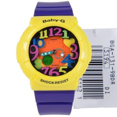 Casio Baby G Ladies Analog Digital Purple Sport Watch Bga 131 9B For Sale Online