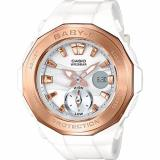 Sale Casio Babyg Latest Collection Rose Gold Bezel Baby G Beach Glamping Series Baby G Bga220G 7 Online Singapore