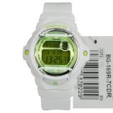 Lowest Price Casio Baby G White Resin Strap Watch Bg 169R 7C