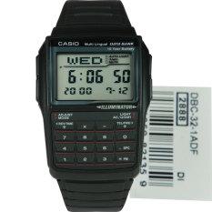 Casio Men S Black Resin Strap Watch Dbc 32 1Adf Black Shop