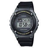 Sales Price Casio Digital Men S Black Resin Strap Watch W 216H 1B