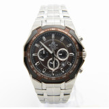 Coupon Casio Edifice Ef 540D 5A Men S Brown Tachymeter Chronograph Watch Ef 540D 5Avudf