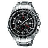 Casio Edifice Ef 545D 1Av Men Black Dial Stainless Steel Watch Ef 545D 1Avudf Online