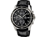 Casio Edifice Efr 526L 1Av Men Chronograph Leather Strap Watch Efr 526L 1Avudf In Stock