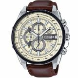 Casio Edifice Efr 549L 7B Black Ion Plated Bezel Leather Analog Watch Coupon Code