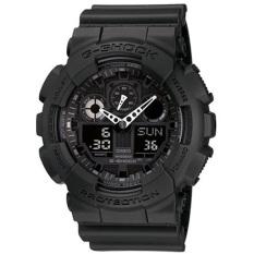 Buy Casio G Shock Ana Digi Magnetic Mens Black Resin Strap Watch Ga 100 1A1 Casio G Shock Online