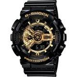 Brand New Casio G Shock Black Gold Mens Watch Ga 110Gb 1A
