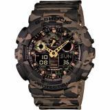 Sale Casio G Shock Camouflage Watch Ga 100Cm 5A On Singapore