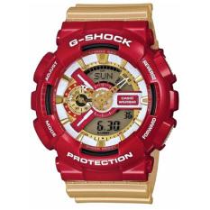 Price Casio G Shock Crazy Colors Men S Gold Resin Strap Watch Ga 110Cs 4 On Singapore