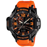 Promo Casio G Shock Gravity Master Black Orange Mens Sports Watch Ga 1000 4Adr Ga 1000