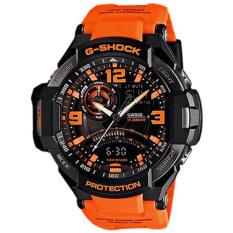 Best Offer Casio G Shock Gravity Master Black Orange Mens Sports Watch Ga 1000 4Adr Ga 1000
