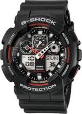 Casio Ga 100 1A4 Men G Shock Water Resistant Black Strap Watch Ga 100 1A4Dr Lowest Price