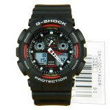 For Sale Casio G Shock Velocity Indicator Alarm Ga 100 1A4 Ga 100 Rubber Strap Watch Int One Size