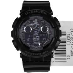 Price Casio G Shock Black Camouflage Ga 100Cf 1A Ga100Cf Sports Watch On Singapore