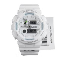 Cheap Casio G Shock G Lide New Gax 100 Series White Resin Band Watch Gax100A 7A Online