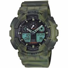 Compare Prices For Casio Gshock Marble Camo Gshock Jungle Green Camouflage G Shock Ga100Mm 3Adr