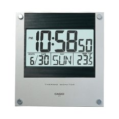 Buy Casio Id 11S 1D Digital Auto Calendar Thermo Monitor Wall And Desk Clock Cheap Singapore