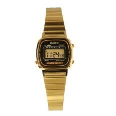 Price Casio Classic Digital Women S Gold Stainless Steel Watch La670Wga 1D Multicolor On Singapore