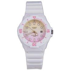 For Sale Casio Watch Standard White Resin Case Resin Strap Ladies Nwt Warranty Lrw 200H 4E2