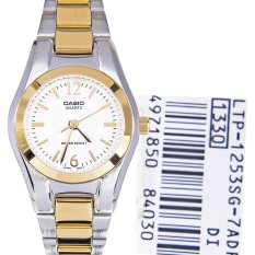 Sale Casio Women S Silver Stainless Steel Watch Ltp1253Sg 7A Singapore