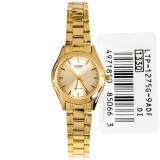Wholesale Casio Watch Standard Gold Stainless Steel Case Stainless Steel Bracelet Ladies Nwt Warranty Ltp 1275G 9A