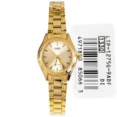 For Sale Casio Watch Standard Gold Stainless Steel Case Stainless Steel Bracelet Ladies Nwt Warranty Ltp 1275G 9A