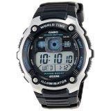 Compare Casio Men S Black E Data Bank Watch Ae 2000W 1A Prices