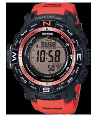 Compare Casio Men S Orange Resin Strap Watch Prw 3500Y 4D