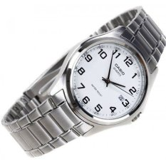 Casio Men S Silver Stainless Steel Strap Watch Mtp 1183A 7B For Sale Online