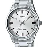 Casio Men S Silver Stainless Steel Strap Watch Mtp V005D 7A For Sale Online