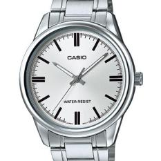 Price Comparisons For Casio Men S Silver Stainless Steel Strap Watch Mtp V005D 7A