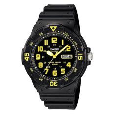 Lowest Price Casio Analog Men S Black Resin Strap Watch Mrw200H 9B