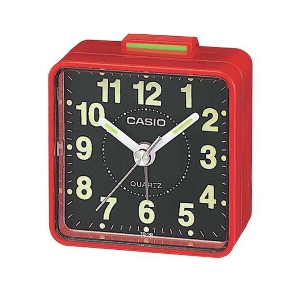 Casio Quartz Analog Alarm Clock TQ-140-4D